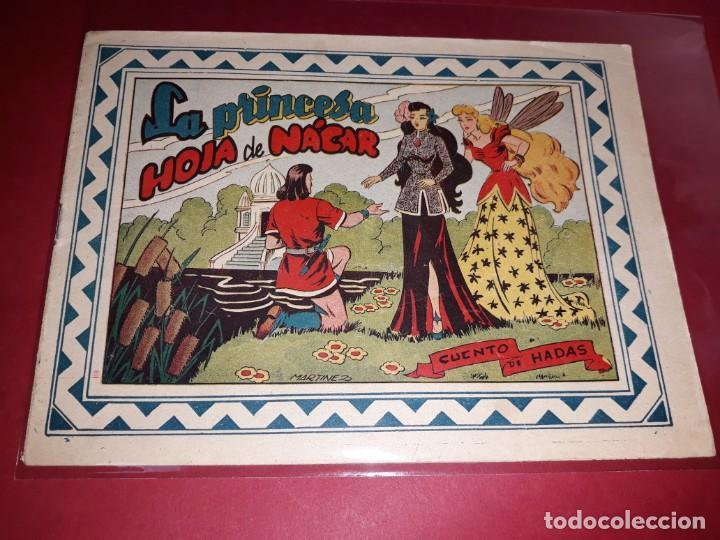 CUENTO DE HADAS ( LA PRINCESA HOJA DE NÁCAR ) EDITORIAL GRAFIDEA (Tebeos y Comics - Grafidea - Otros)