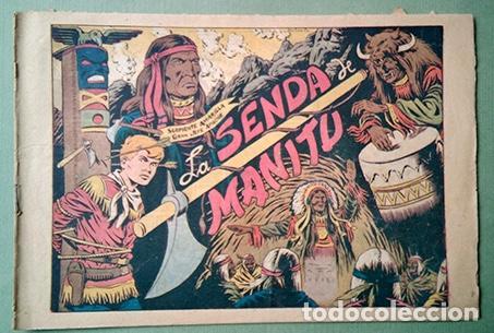 CHISPITA. SEGUNDA AVENTURA Nº 6: LA SENDA DE MANITÚ (Tebeos y Comics - Grafidea - Chispita)