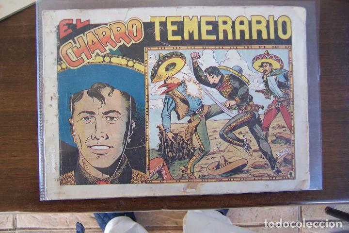 GRAFIDEA,- LOTE DE 33 Nº DE LOS 44 QUE SON. (Tebeos y Comics - Grafidea - El Charro Temerario)