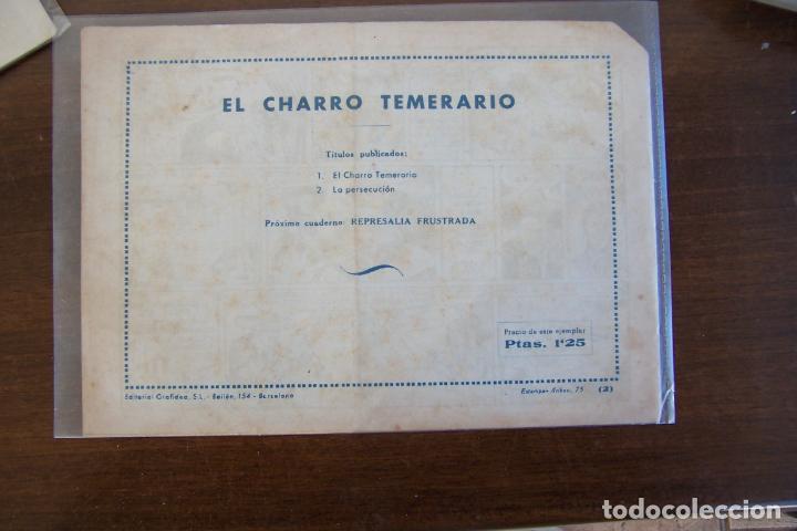 Tebeos: grafidea,- el charro temerario nº 2 persecución - Foto 2 - 233145325
