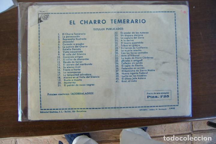 Tebeos: grafidea,- el charro temerario nº 41 knut, el indio - Foto 2 - 233146130