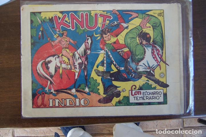 GRAFIDEA,- EL CHARRO TEMERARIO Nº 41 KNUT, EL INDIO (Tebeos y Comics - Grafidea - El Charro Temerario)