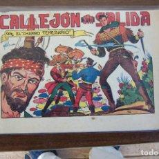 Tebeos: GRAFIDEA,- EL CHARRO TEMERARIO Nº 34 CALLEJÓN SIN SALIDA. Lote 233146770