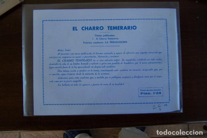 Tebeos: grafidea,- el charro temerario nº 1 facsímil - Foto 2 - 233147555
