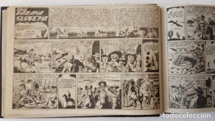 Tebeos: LA MÁSCARA DE LOS DIENTES BLANCOS ORIGINAL COMPLETA - GRAFIDEA 1947 - Foto 10 - 233791200