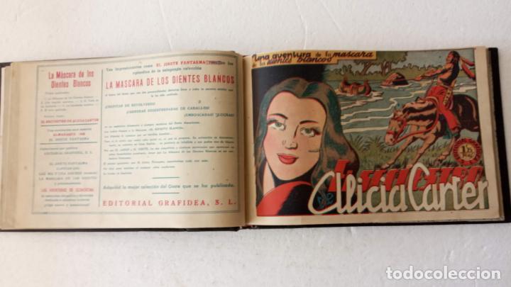 Tebeos: LA MÁSCARA DE LOS DIENTES BLANCOS ORIGINAL COMPLETA - GRAFIDEA 1947 - Foto 15 - 233791200