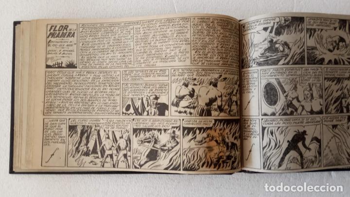 Tebeos: LA MÁSCARA DE LOS DIENTES BLANCOS ORIGINAL COMPLETA - GRAFIDEA 1947 - Foto 26 - 233791200