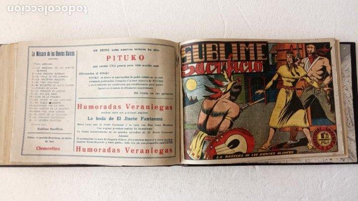 Tebeos: LA MÁSCARA DE LOS DIENTES BLANCOS ORIGINAL COMPLETA - GRAFIDEA 1947 - Foto 49 - 233791200