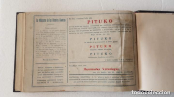 Tebeos: LA MÁSCARA DE LOS DIENTES BLANCOS ORIGINAL COMPLETA - GRAFIDEA 1947 - Foto 57 - 233791200
