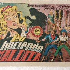 Giornalini: LA MÁSCARA DE LOS DIENTES BLANCOS Nº 4 EDI. GRAFIDEA 1948, ORIGINAL. Lote 233932415