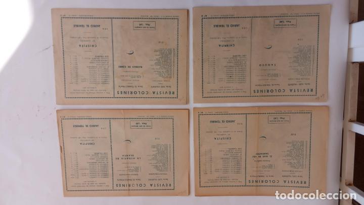 Tebeos: COLORINES SERIE EL TEMIBLE PIRATA ORIGINALES NºS 2,3,4,5 - EDI. GRAFIDEA 1958 - BELLALTA - Foto 5 - 234403665