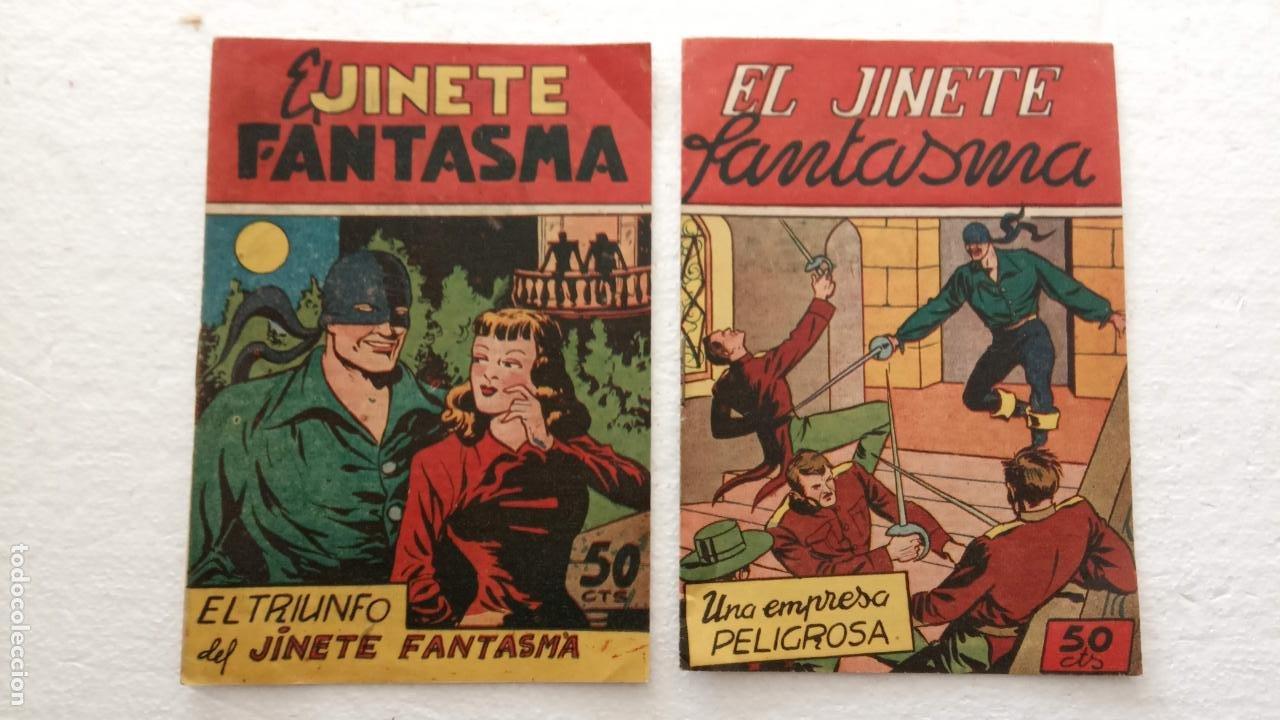EL JINETE FANTASMA ORIGINALES NºS - 10 Y 11 - EDI. GRAFIDEA 1950, SIN CATALOGAR, POR FEDERICO AMORÓS (Tebeos y Comics - Grafidea - El Jinete Fantasma)