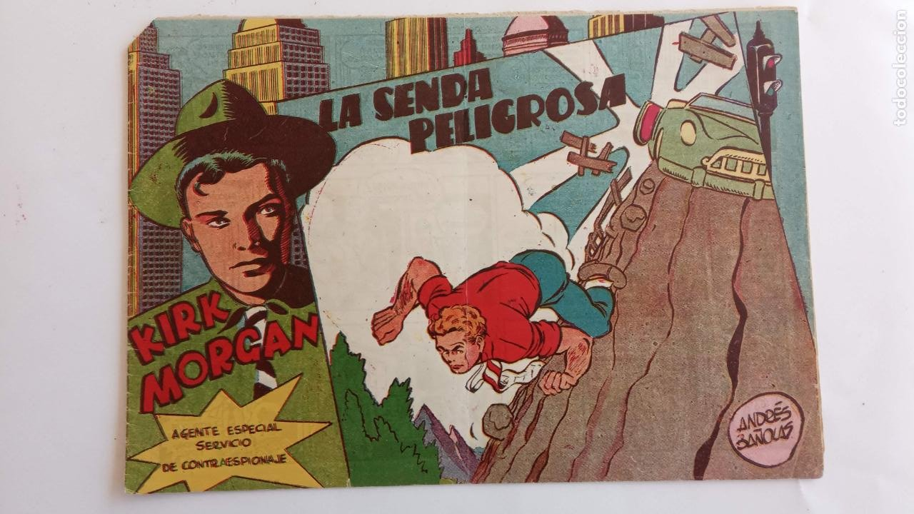Tebeos: KIRK MORGAN ORIGINALES NºS - 2,3,4,5,8,10,12 EDI. GRAFIDEA 1953 - Foto 7 - 234588675