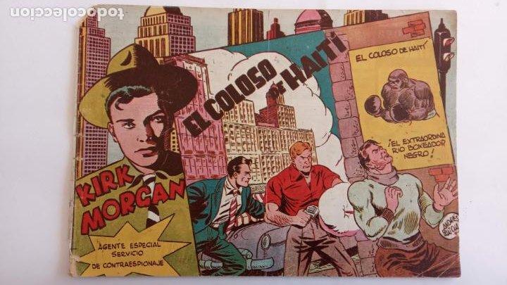 Tebeos: KIRK MORGAN ORIGINALES NºS - 2,3,4,5,8,10,12 EDI. GRAFIDEA 1953 - Foto 9 - 234588675