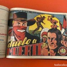 Giornalini: LA MÁSCARA DE LOS DIENTES BLANCOS. GRAFIDEA, 1948. ENCUADERNADA DE EDITORIAL.. Lote 235886935