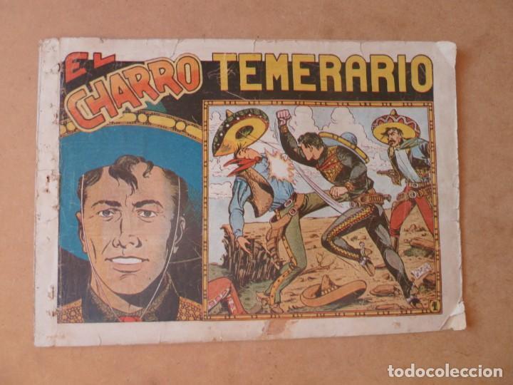 CHARRO TEMERARIO LOTE DE 31 EJEMPLARES DESDE 1-2-3-4... HASTA EL 42. ORIGINALES, GRAFIDEA (Tebeos y Comics - Grafidea - El Charro Temerario)