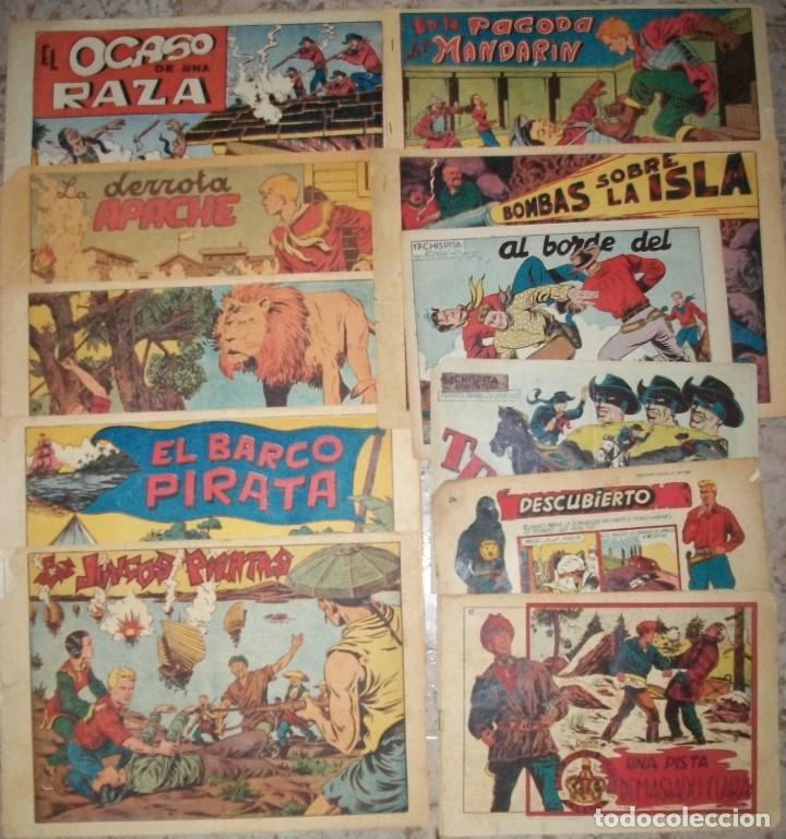 CHISPITA (GRAFIDEA) LOTE DE 9 NUMEROS DE VARIAS SERIES (VER DESCRIPCION) (Tebeos y Comics - Grafidea - Chispita)