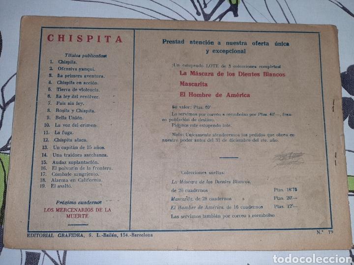 Tebeos: Chispita número 19, primera serie, Ambrós, Buen estado - Foto 2 - 239490760