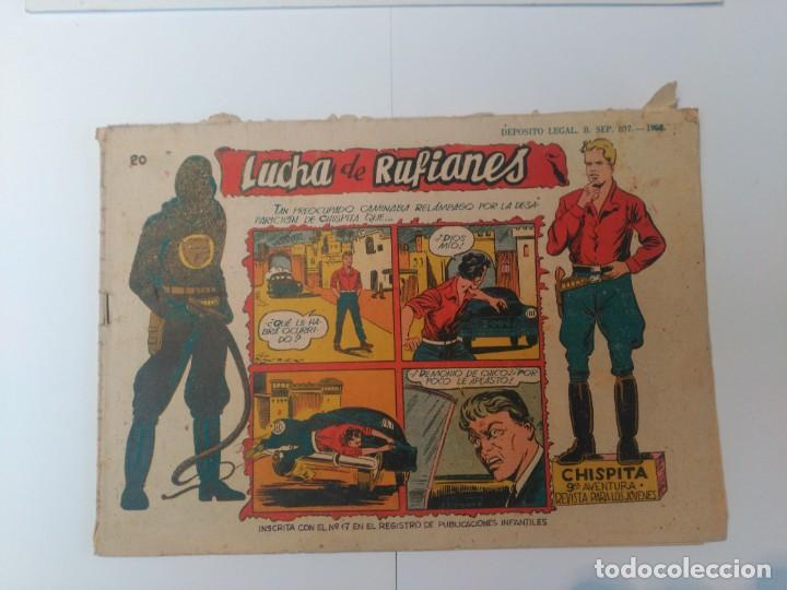 CHISPITA Nº20 (Tebeos y Comics - Grafidea - Chispita)