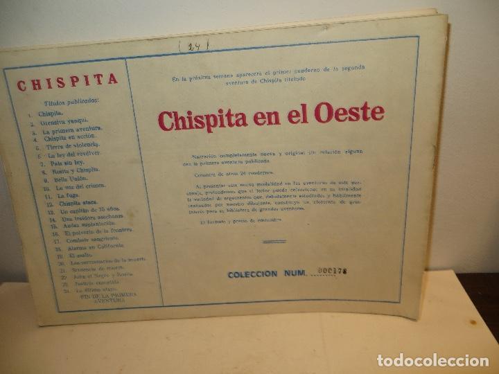 Tebeos: CHISPITA Colección Completa 1 al 24 tamaño 22x31cm Grafidea 1ª Aventura Reedición.NUEVA,REGALADA - Foto 6 - 240250400