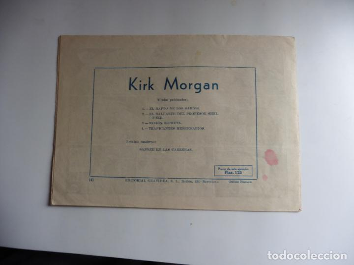 Tebeos: KIRK MORGAN Nº 4 ORIGINAL - Foto 2 - 243390100