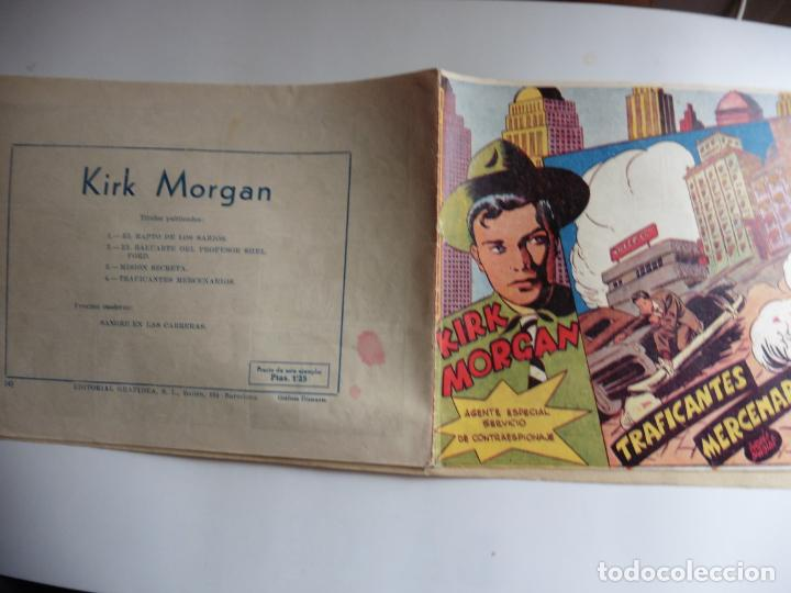 Tebeos: KIRK MORGAN Nº 4 ORIGINAL - Foto 4 - 243390100