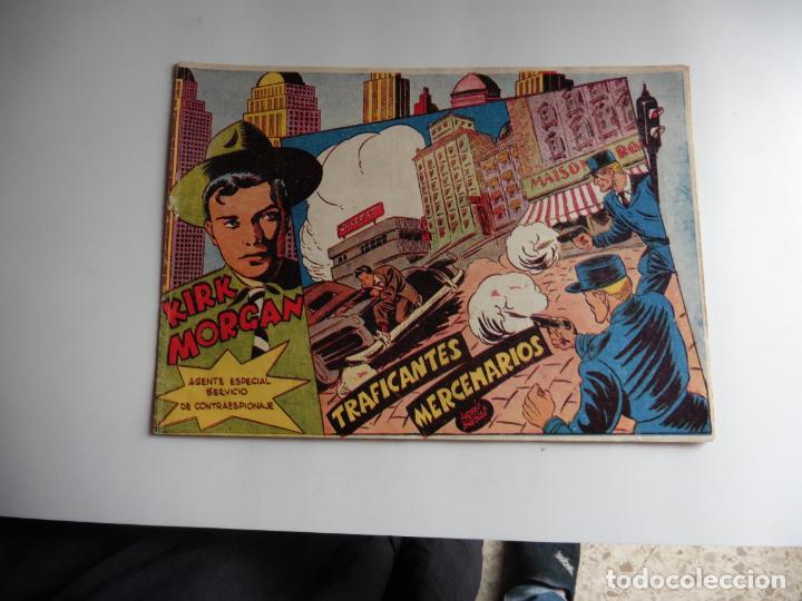 KIRK MORGAN Nº 4 ORIGINAL (Tebeos y Comics - Grafidea - Otros)