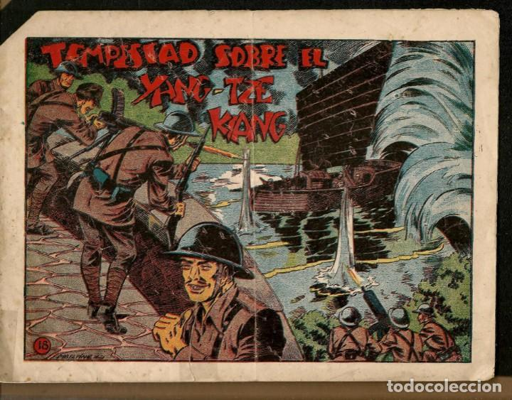 SARGENTO MACAI. Nº 18. TEMPESTAD SOBRE EL YANG - TZE - KIANG. GRAFIDEA ¡¡ORIGINAL!!.(C/A28) (Tebeos y Comics - Grafidea - Otros)
