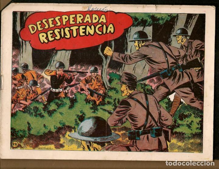 SARGENTO MACAI. Nº 19. DESESPERADA RESISTENCIA. GRAFIDEA ¡¡ORIGINAL!!.(C/A28) (Tebeos y Comics - Grafidea - Otros)