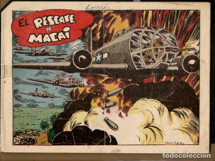 SARGENTO MACAI. Nº 24. EL RESCATE DE MACAI. GRAFIDEA ¡¡ORIGINAL!!.(C/A28) (Tebeos y Comics - Grafidea - Otros)