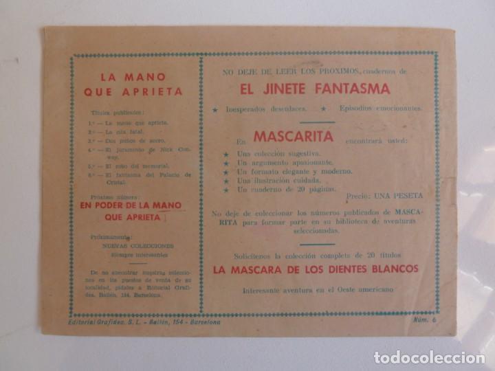 Tebeos: LA MANO QUE APRIETA LOTE Nº 1 - 3 - 4 - 5 - 6 - 7 - 8 - 9 - 10 GRAFIDEA 1948 - Foto 11 - 257694285