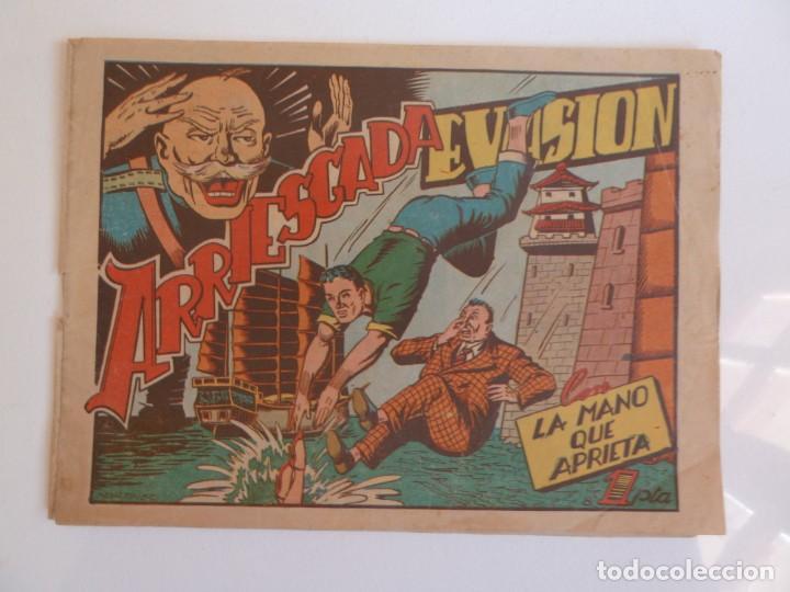 Tebeos: LA MANO QUE APRIETA LOTE Nº 1 - 3 - 4 - 5 - 6 - 7 - 8 - 9 - 10 GRAFIDEA 1948 - Foto 14 - 257694285