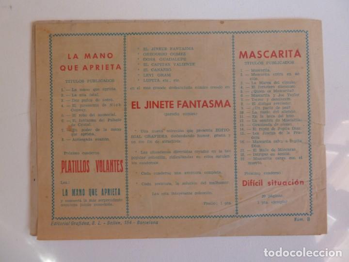 Tebeos: LA MANO QUE APRIETA LOTE Nº 1 - 3 - 4 - 5 - 6 - 7 - 8 - 9 - 10 GRAFIDEA 1948 - Foto 15 - 257694285