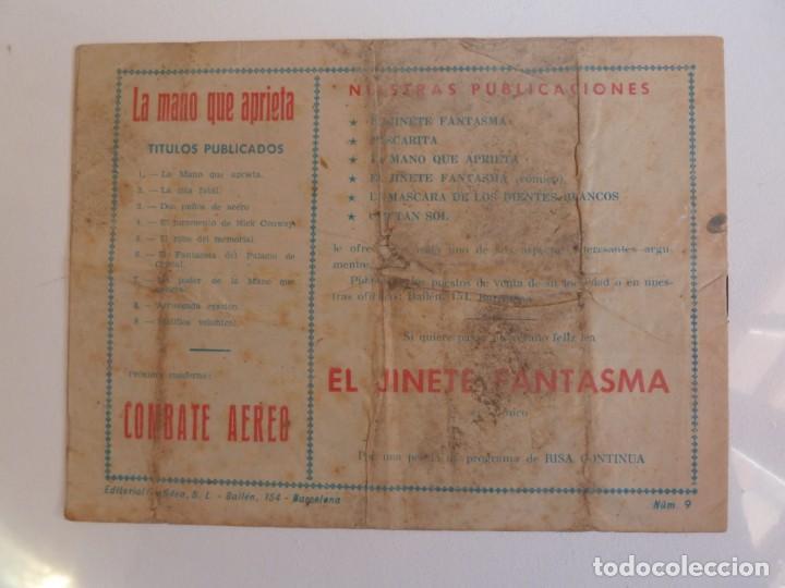Tebeos: LA MANO QUE APRIETA LOTE Nº 1 - 3 - 4 - 5 - 6 - 7 - 8 - 9 - 10 GRAFIDEA 1948 - Foto 17 - 257694285