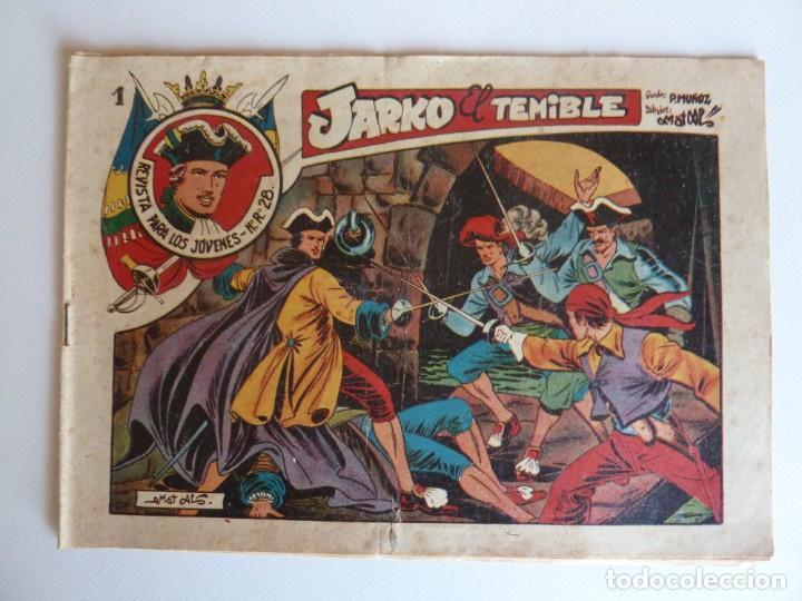 JARKO EL TEMIBLE Nº 1 , GRAFIDEA , DE MATÍAS ALONSO, ORIGINAL (Tebeos y Comics - Grafidea - Otros)
