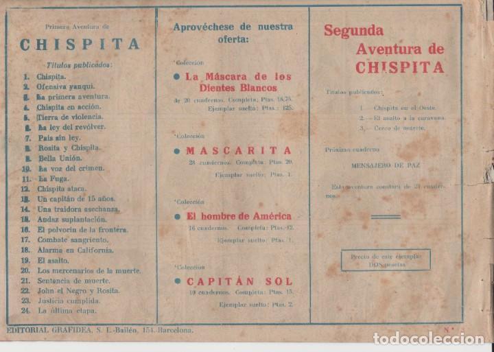 Tebeos: CHISPITA (2ª AVENTURA) Nº 3 (EDITORIAL GRAFIDEA) - Foto 2 - 260549905