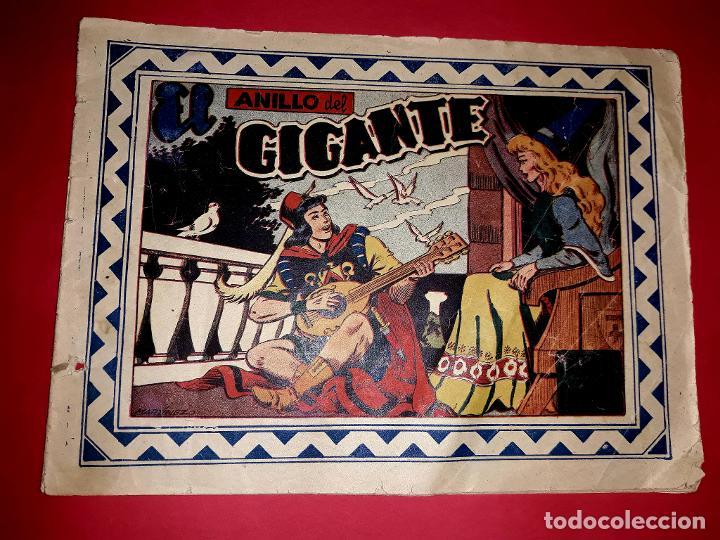 CUENTO DE HADAS EL ANILLO DEL GIGANTE COLECCIÓN CELESTE Nº 17 1948 (Tebeos y Comics - Grafidea - Otros)