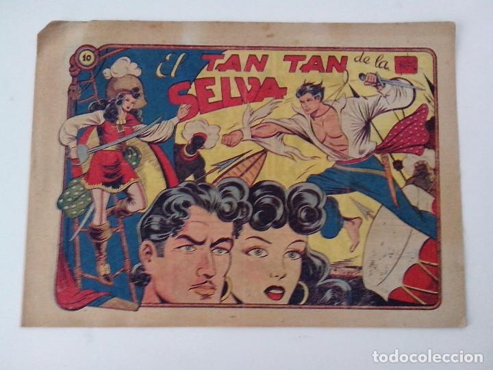 TEBEO COMIC ORIGINAL TAN TAN DE LA SELVA Nº 10 (Tebeos y Comics - Grafidea - Otros)
