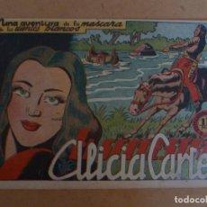 Tebeos: LA MASCARA DE LOS DIENTES BLANCOS Nº 6 GRAFIDEA 1948. Lote 267780834