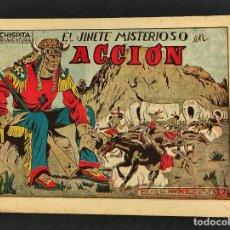 Tebeos: CHISPITA - OCTAVA 8ª AVENTURA - Nº 9 - EL JINETE MISTERIOSO EN ACCION - ORIGINAL - GRAFIDEA -. Lote 268571509