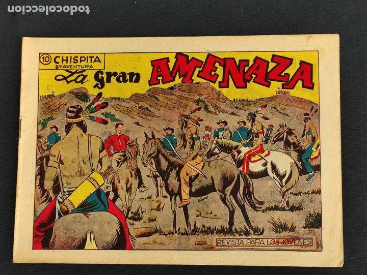 CHISPITA - OCTAVA 8ª AVENTURA - Nº 10 - LA GRAN AMENAZA - ORIGINAL - GRAFIDEA - (Tebeos y Comics - Grafidea - Chispita)