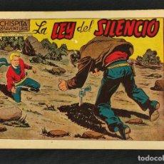 Tebeos: CHISPITA - OCTAVA 8ª AVENTURA - Nº 11 - LA LEY DEL SILENCIO - ORIGINAL - GRAFIDEA -. Lote 268571814