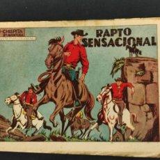 Tebeos: CHISPITA - OCTAVA 8ª AVENTURA - Nº 15 - RAPTO SENSACIONAL - ORIGINAL - GRAFIDEA -. Lote 268574074