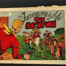 Tebeos: CHISPITA - OCTAVA 8ª AVENTURA - Nº 21 - INCOMPRENSIBLE FUGA DE YA'KIWA - ORIGINAL - GRAFIDEA -. Lote 268575524