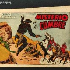 Tebeos: CHISPITA - OCTAVA 8ª AVENTURA - Nº 23 - MISTERIO EN LA CUMBRE - ORIGINAL - GRAFIDEA -. Lote 268576004