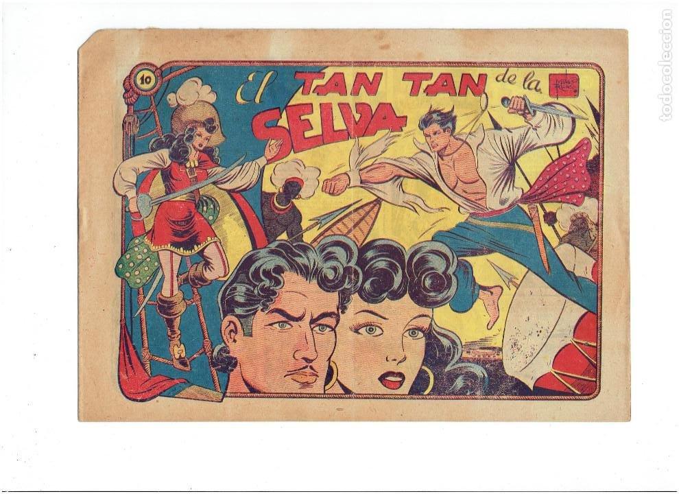 ARCHIVO * EL CHARRO TEMERARIO * 2ª LA CAPITANA Nº 10 * EDITORIAL GRAFIDEA 1955 * (Tebeos y Comics - Grafidea - El Charro Temerario)
