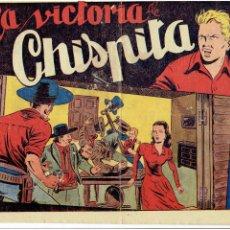 Tebeos: ARCHIVO * CHISPITA * SEXTA 6 AVENTURA Nº 23 * EDITORIAL GRAFIDEA 1955 ORIGINAL *. Lote 268771694