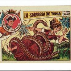 Tebeos: ARCHIVO * JARKO EL TEMIBLE * Nº 15 LA SORPRESA DE TANIA * ED. GRAFIDEA 1958 * ORIGINAL *. Lote 273328088