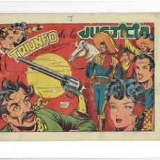 Giornalini: ARCHIVO * EL CHARRO TEMERARIO Nº 44 ORIGINAL * ED. GRAFIDEA 1953 *. Lote 273331028