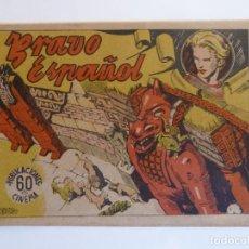 Tebeos: BRAVO ESPAÑOL Nº 1 ED. GRAFIDEA Y PUBLICACIONES CINEMA, AÑO 1940 - 1941. Lote 274308978